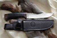 Russisches Messer, Jagdmesser A&R Zlatoust -- Berkut Leder