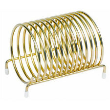 Winco Cs-3, 3-Inch Diameter Brass Plated Check Caddy