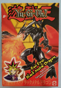 YU-GI-OH! Red Eye Black Metal Dragon Model Kit Figure Mattel 2002 RARE Complete