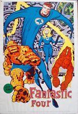 FANTASTIC FOUR MARVELMANIA 1970 Vintage Marvel comics poster 23x35 JACK KIRBY