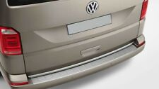 VW T5 TRANSPORTER-CARAVELLE-MULTIVAN REAR BUMPER PROTECTOR COVER STAINLESS STEEL