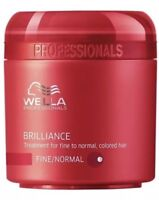 Wella Care Brilliance Mask 150ml normales, feines, coloriertes Haar (100ml 6,66€