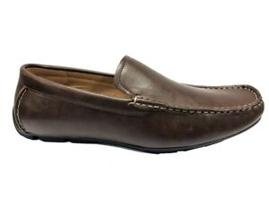 Mens Casual 32G Slip On Fashion Driving Moccasin Loafers Shoes Brown