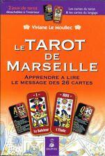 LE TAROT DE MARSEILLE + 2 jeux de tarot . Neuf .