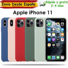 Funda Iphone 11 suave fundas apple Silicona/Goma con logo manzana fundas iphone