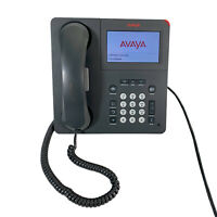 Avaya 9641G Digital VoIP Color Touchscreen Office Phone with Stand