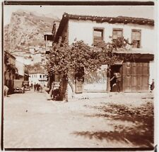 Albanie Photo Plaque de verre B18 Stereo Positive Vintage ca 1910