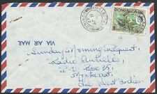 DOMINICA 1967 airmail cover to Montserrat - VIEILLE CASE cds...............50277