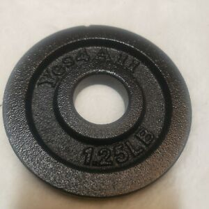 Yes4all 1.25 lb plate weight for 1.15 inch dumbbell bar fits 52.5 lb, 100lb sets