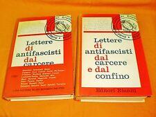 lettere di antifascisti dal carcere e dal confino editori riuniti 1962 1a edi