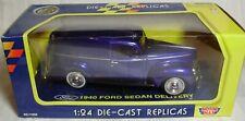 Motor Max 1940 Ford Sedan Delivery – Royal Blue – 1:24