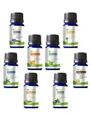 Essential Oil Set 8 - 10ml 100% Pure Therapeutic Grade Kit Bulk Lot Gift Set