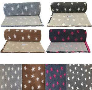 PnH Veterinary Bedding® STARS DESIGN VET BED - Many Sizes - Rolls & Pieces