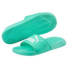 7bc635276c1c PUMA Popcat Womens Pastel Green Synthetic Slide - 3 UK