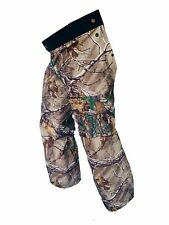 Forester Chainsaw Safety Chaps - Full Wrap Zipper - Real Tree Camo (Regular (...