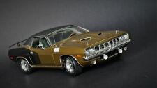 1/18 1971 Plymouth 'Cuda 383 Gold Highway 61