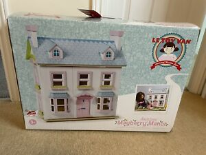 "Le Toy Van ""Mayberry Manor"" wooden Doll House. Boxed"