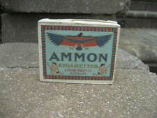 Vintage 1932 Ammon Cigarettes Tobacco Box....EMPTY....Sterling Tobacco Co.