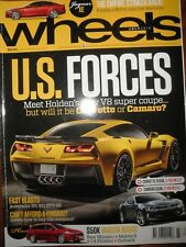 Wheels Mag 2015 Caterham CSR175 Jaguar EX F-Type Porsche Cayman GTS 911 GT3 RS
