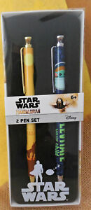 Brand New! STAR WARS Mandalorian 2-Pen Set by Innovative Designs, Multicolor