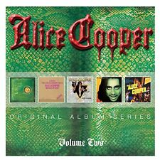 ALICE COOPER ORIGINAL ALBUM SERIES VOLUME 2: 5CD ALBUM SET (June 17th 2016)