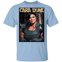 T-Shirt cara dune mandalorian gina carano grogu baby yoda mando star wars jedi