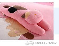Hikosen Cara Pillow Cat cushion Large Size in Red color