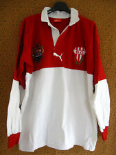 Maillot Rugby Biarritz Olympique Puma vintage coton Pays Basque - L