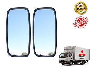 2x 36x18cm Main Mirror E6 MITSUBISHI FUSO CANTER 2005> fit Left/Right Side