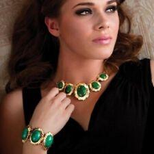 Stauer Sunburst Bracelet & Necklace Set