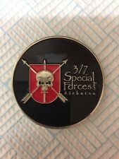 7th Special Forces Group Airborne 3rd Battalion Green Beret Army Challenge Coin