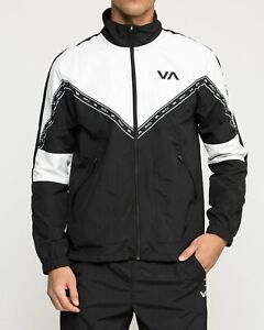 RVCA Men's CONTROL Track Jacket - V703TRC0 - BLK - XXL - NWT