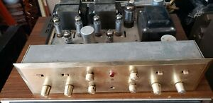 VINTAGE HH SCOTT 222C TUBE STEREO AMPLIFIER STEREOMASTER
