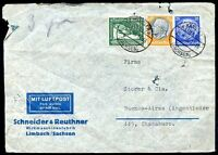 GERMANY TO ARGENTINA Air Mail Cover 1938, NICE!