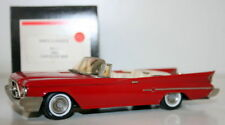 WESTERN MODELS 1/43 KIMS CLASSICS No 1 - 1960 CHRYSLER 300F - RED