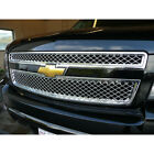 Chrome Grille Overlay For 07-14 Tahoe Suburban Avalanche Ltz Style