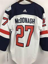 NWT Kids RYAN McDONAGH New York Rangers USA World Cup Hockey Youth Jersey - L/XL