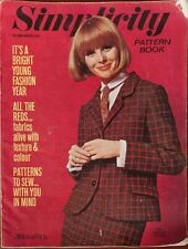 More details for simplicity sewing pattern book autumn / winter 1966 uk catalogue adverts