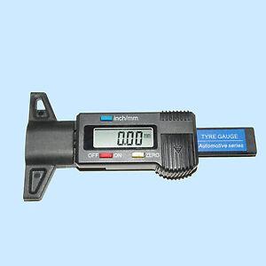 LCD Digital Profiltiefenmesser Reifenprofilmesser Tiefenmesser Reifen