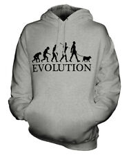 Norwegian Elkhound Evolution Of Man Unisex Hoodie Mens Womens Ladies Dog Gift