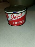 Antique Ideal Brand Coffee Tin