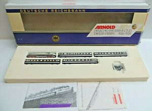 Arnold N 0166 Henschel-Wegmann-Zug Complete With Pads Tested Boxed
