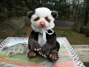 Sweet One of a Kind Chocolate Panda Bear Baby by Maria Trotsenko