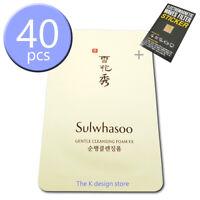 Sulwhasoo Gentle Cleansing Foam EX 5ml x 10 / 20 / 30 / 40pcs + 2gifts [KOREA]