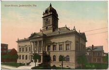 Court House in Jacksonville FL Postcard 1912