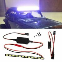 12 LED Light Bar Roof Lamp Metal for 1/10 Axial Wraith 90018 90020 90045 RC Car