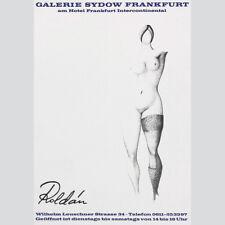 Modesto Roldan. ausstellungsplakat galería Sydow 1966