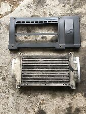 GENUINE BMW MINI COOPER S 1.6 SUPERCHARGED INTERCOOLER WITH BOOTS AND CLAMPS