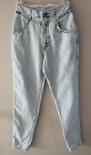 "Vtg Womens Lee Acid Wash Jeans High Waisted Moms  Size 9 Medium - 31"" Inseam"