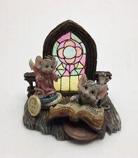 Boyds Ezekiel & Francine In God We Trust church mice NIB